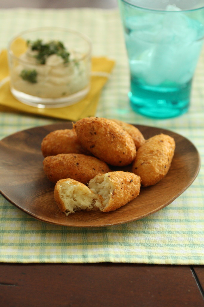 Cod Fritters (Bolinho de Bacalhau)