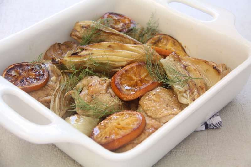 Chicken with Fennel & Oranges