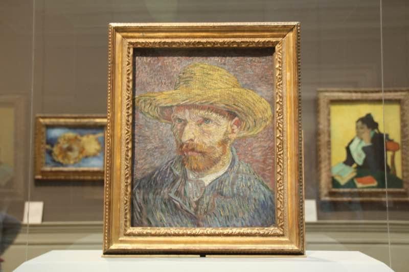 Van Ghog self-portrait