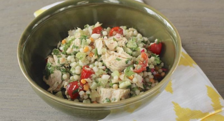 Tuna & Israeli Couscous Salad