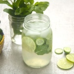 Mint Lemon Agua Fresca