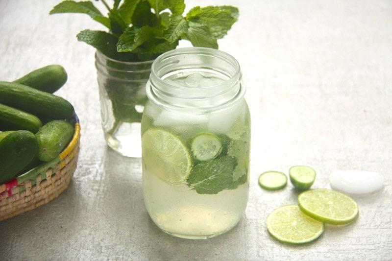 Mint Lemon Agua Fresca