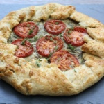 Eggplant and Tomato Galette