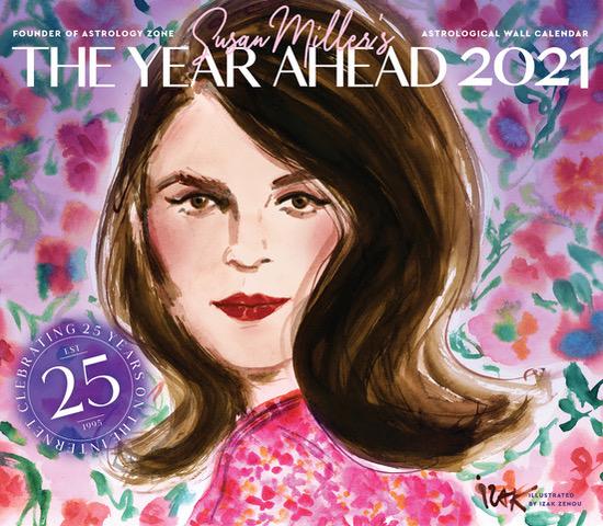 Susan Miller's Wall Calendar