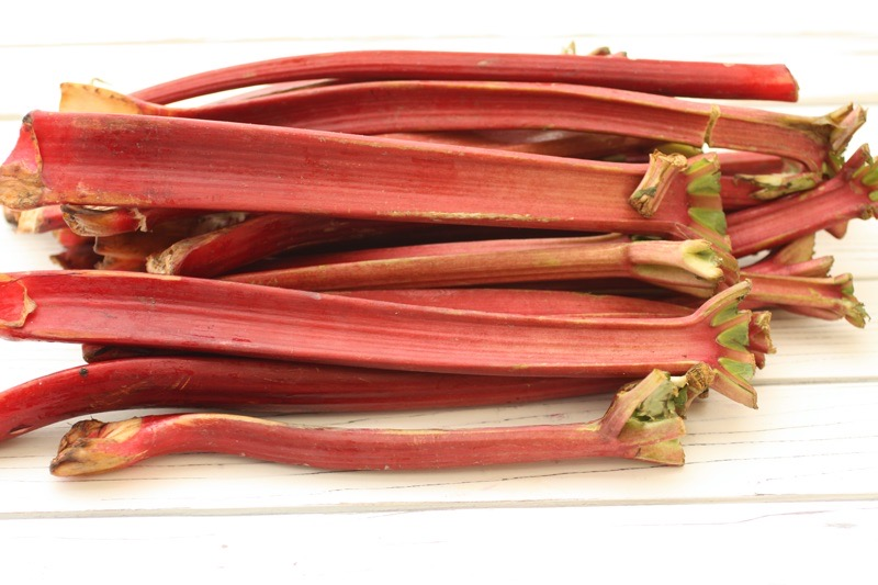 Think Pink! Think Rhubarb!