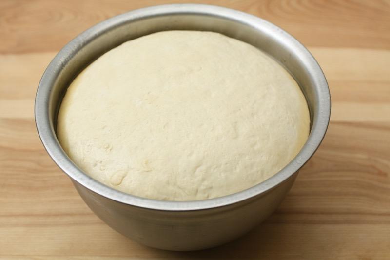 Focaccia Dough Rise